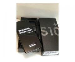 Samsung Galaxy S10 128GB = 350 EUR, Samsung Galaxy S10+ 128GB = 380 EUR , Whatsapp  : +27837724253
