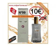 Perfume Mujer Equivalente Nº99 ANGELES TERRA MUCLER alta gama 10€ 100ml